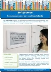 softyscreen communiquez avec vos sites distants