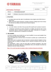 rappel yamaha canister
