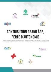 contribution grand age autonomie