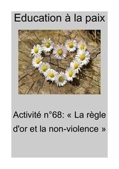 activite n68 la regle dor et la non violence