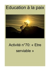 activite n70 etre serviable