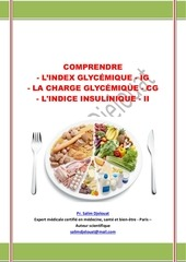 Comprendre L Index Glycemique Ig La Charge Glycemique Cg L Indice Insulinique Ii Salim Djelouat 22 Par Salim Djelouat Fichier Pdf