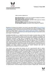 lettre ouverte gouvernement