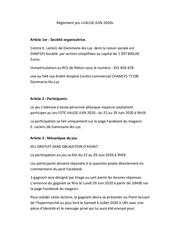 reglement jeu valise juin 2020