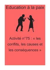 activite n75les conflits les causes et les consequences