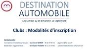 2 destination automobile   modalites dinscription clubs