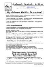 07 02 le points sur les negos au ministere