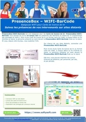 badgeuse wifi qrcode la badgeuse connectee a internet via le res