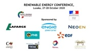 energy conference sponsors flyer