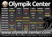 planning olympik center juillet 2020
