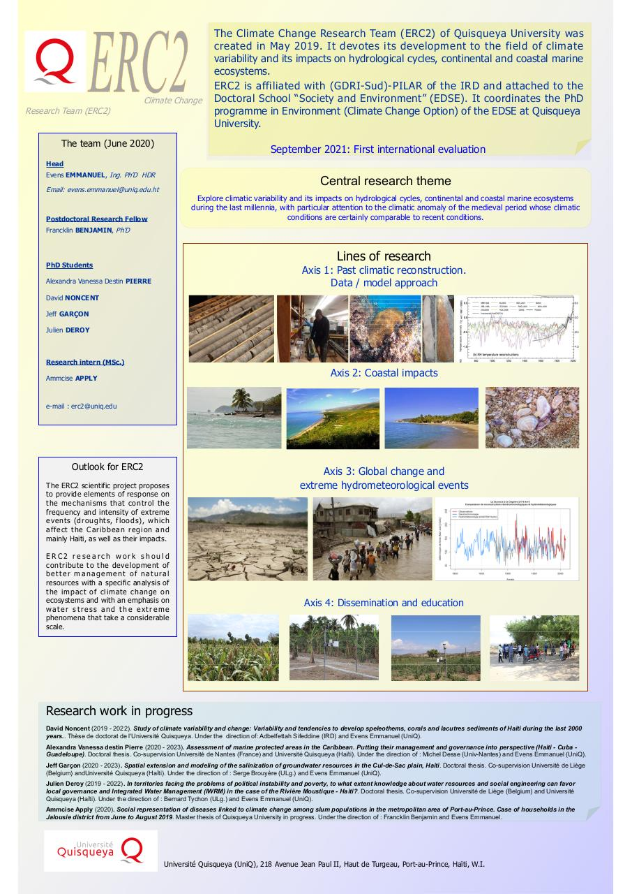Aperçu du document Climate Change Research Team (ERC2) of Université Quisqueya [June 2020].pdf - page 1/1