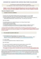 dossier candidature simplifie smv ab