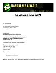 kit adhesion 2021