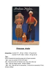 tenue oriental arabian night princesse et le genie fr