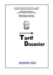tarif 2020 2