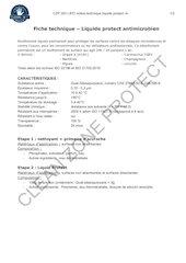 certificats et analyses spray et lingettes czpcompressed