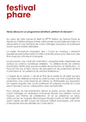 Phare Programme Complet.pdf - page 3/13