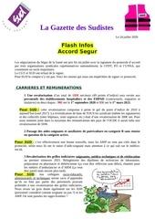 la gazette des sudistes flash infos accord segur24 juillet 2020