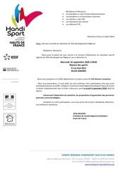 invitation   reunion de rentree   pole developpement regional