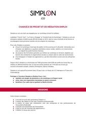 chargeedeprojetetmediationemploisimplonbf 1