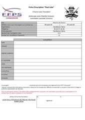 fiche d inscription float tube 2020