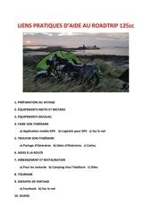 liens pratiques daide au roadtrip 125cc