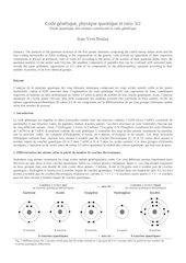 code genetique et physique quantique
