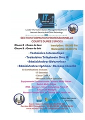 it school formation courte duree