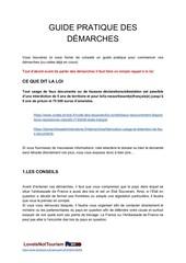 guide pratique des demarches
