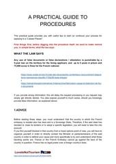practical guide to procedures en