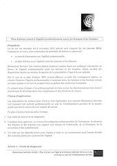 egalite hommes femmes signe 2013