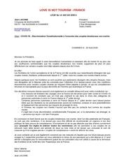 conseil constitutionnel20 aout 2020