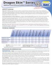 dragonskintechnical data  certifications