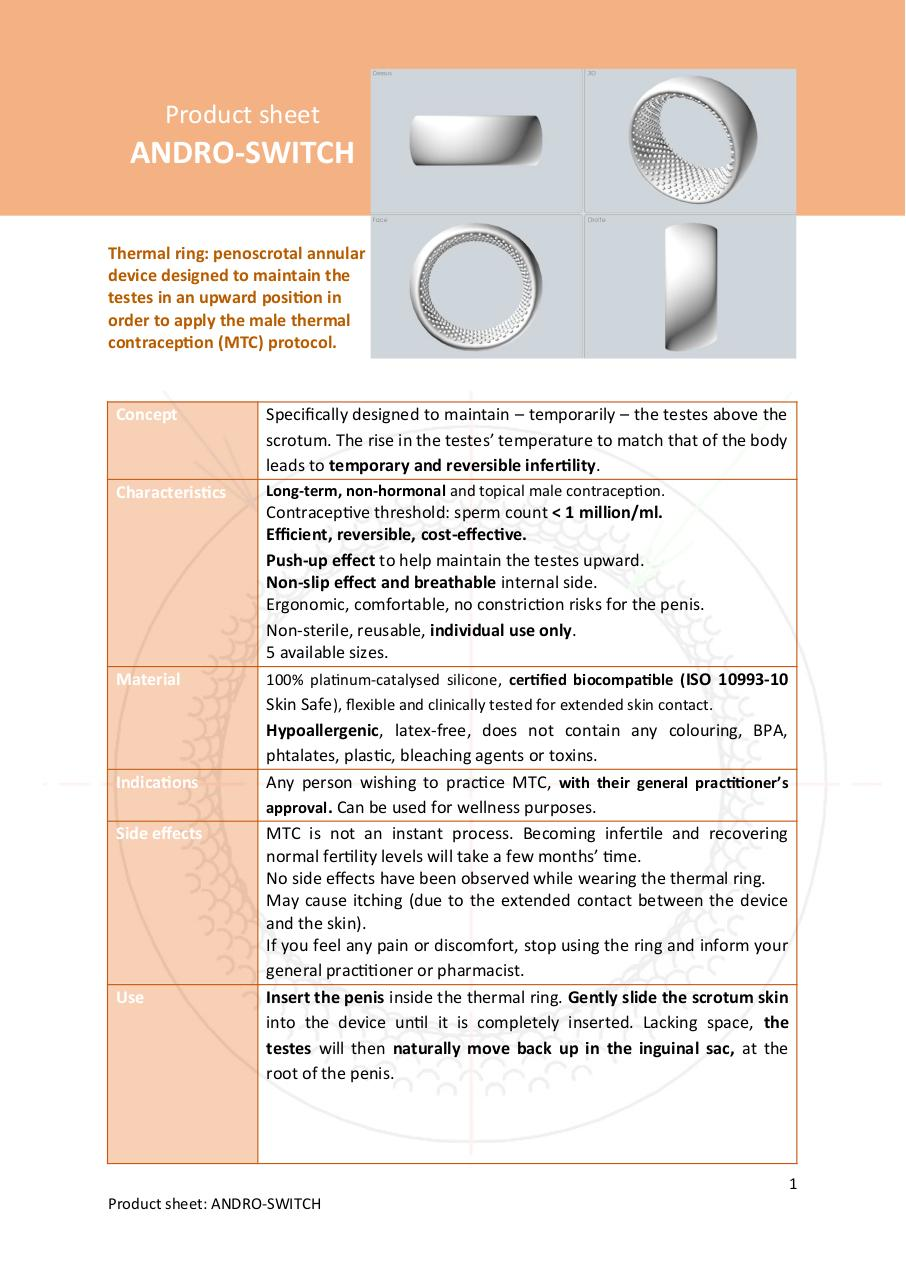 Aperçu du document The complete Product Sheet Andro-switch.pdf - page 1/2