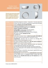 the complete product sheet andro switch