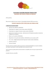 convocation ago pdf