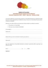 procuration ago pdf