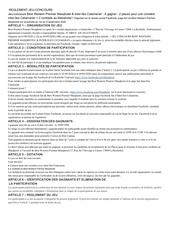 reglement jeu concours masqhotel 01092020