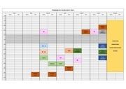planning de cours
