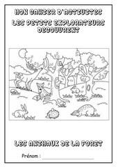 cahier dactivites   animaux foret