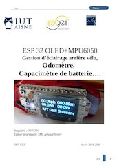 esp32 mpu6050 arduino filtre passe bas 1hz