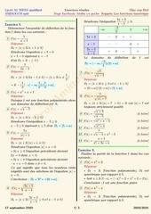les fonctions numeriques 1bac rappels