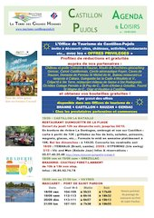 2020 agenda  loisirs au 2020 09 18