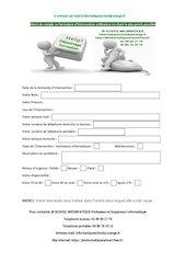 formulaire dintervention ordinateur