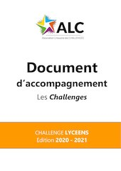 document daccompagnement challenge lyceens 2020 2021