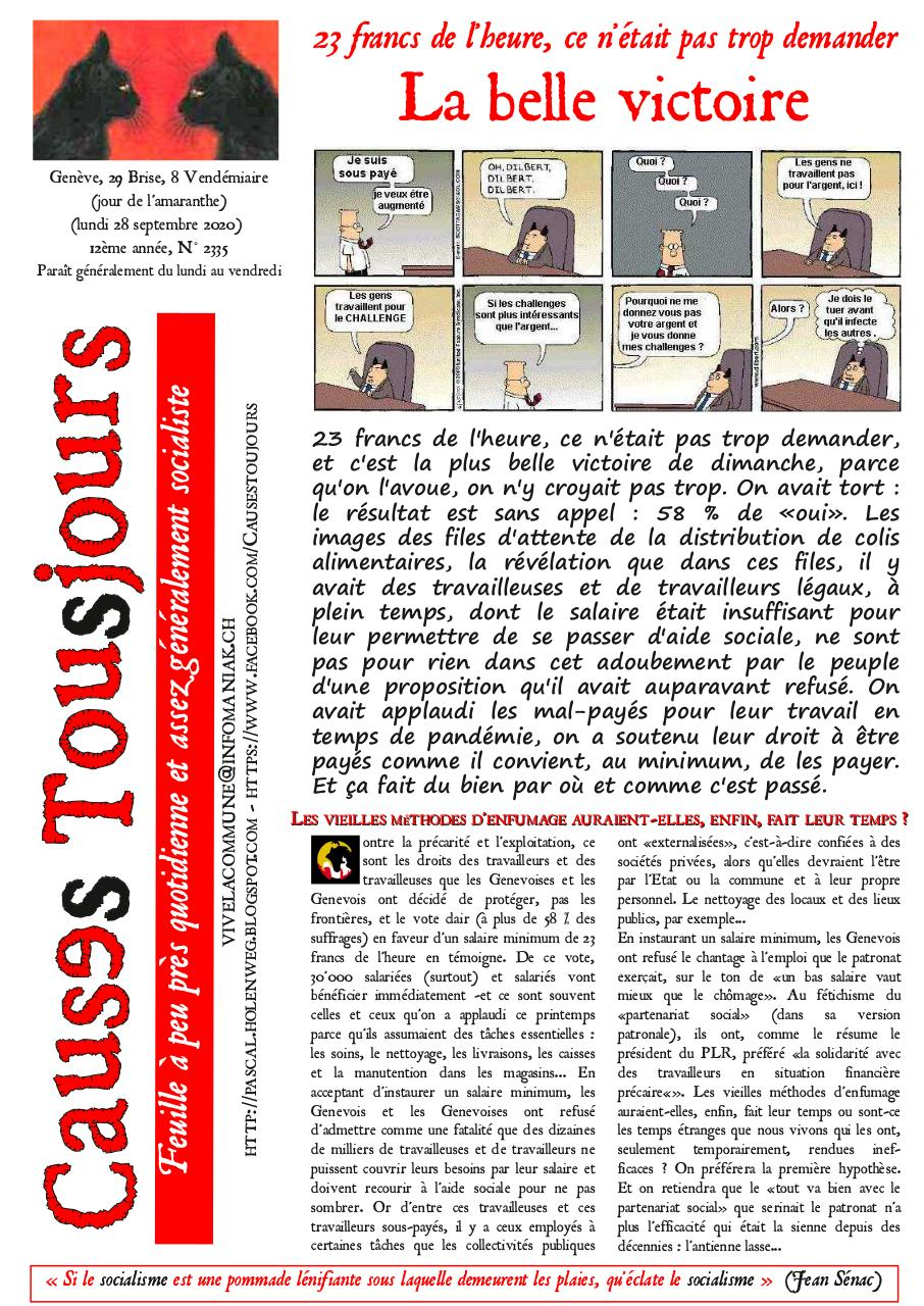 Aperçu du document Newsetter2335.pdf - page 1/2