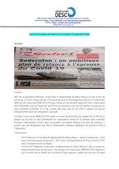 revue de la presse du lundi 21 au vendredi 25 septembre 2020 pdf