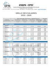 grille des salaires 2015   2020