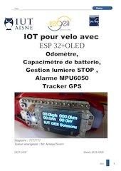 esp32 odometre alarme capacimetrertc heure