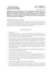 motion fonds de soutien a laction sociale durgence